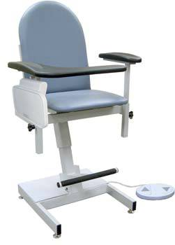 Power-Lift Blood Drawing Chair