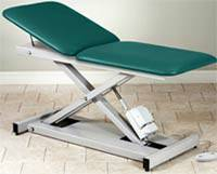 Hi-Lo Table w/ Adjustable Backrest