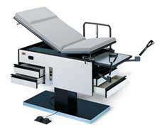Pneumatic Backrest Exam Table