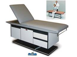 Treatment Table w/ Gas Spring Backrest