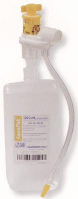Prefilled Sterile Water for Nebulizers w/ Adapter, 1000mL