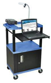Presentation Cart with Storage