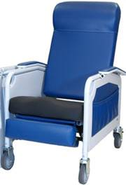 Convalescent Recliner w/ Double Density Seat