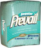 Prevail Disposable Underpads, 23in x 36in