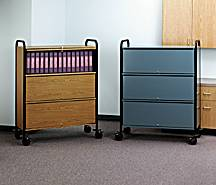 Privacy Patient Chart Rack, 24 Capacity