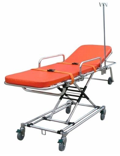 Lightweight X-Frame Ambulance Stretcher