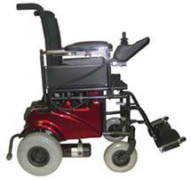 Power Chair w/ Swingback Arms