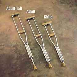 Quick-Change Crutch