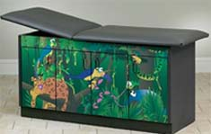Rainforest Follies Pediatric Treatment Table