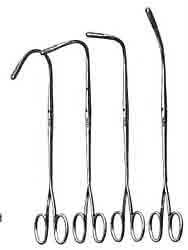 Randall Kidney Stone Forceps 12 Curved 9 in