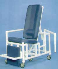 Recliner Wheelchair Dual Removable Arms