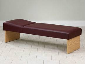 Recovery Couch with Panel Legs 24in W
