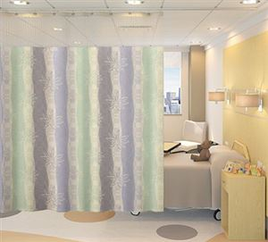 96in x 36in Single Bed Privacy Cubicle Curtain Kit