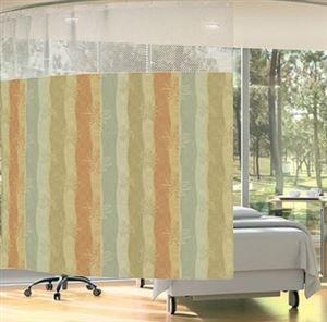 Single Bed Curtain (Riverside Rose color option)