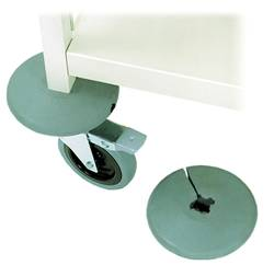 Rubber Bumpers for Chart Racks