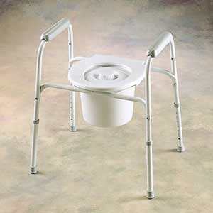 Safeguard Steel Commode