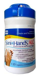 Antimicrobial Hand Sanitizing Wipes