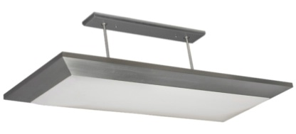 Satin Finish Overhead Light
