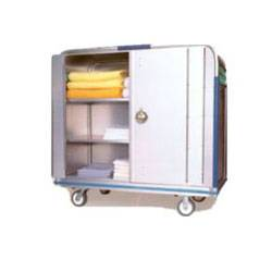 Security Cart w/ Bi-Fold Lockable Doors