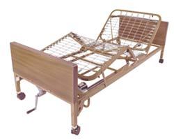 Semi-Electric Medical Bed (Single Crank)