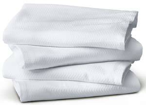 White Thermal Blankets 66in 90in