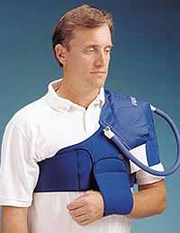 Shoulder Cryo Cuff with Cooler