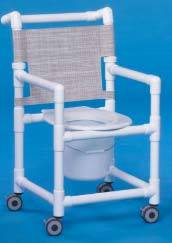 Shower Chair Commode 41in High