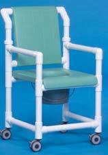 Shower Chair Commode w/ Closed Seat