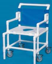 Shower Chair w/ Flat Seat