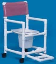Shower Commode Footrest