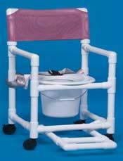Shower Commode w/ Seat Belt