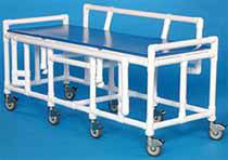 36in H Bariatric Mobile Shower Bed
