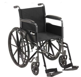 Silver Sport One Wheelchair w/ 18in Seat