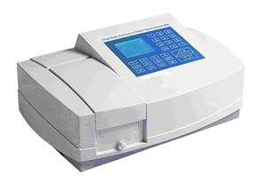 Visible UV Spectrophotometer Variable slits