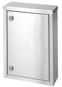 Single Door Stainless Steel Narcotic Cabinet