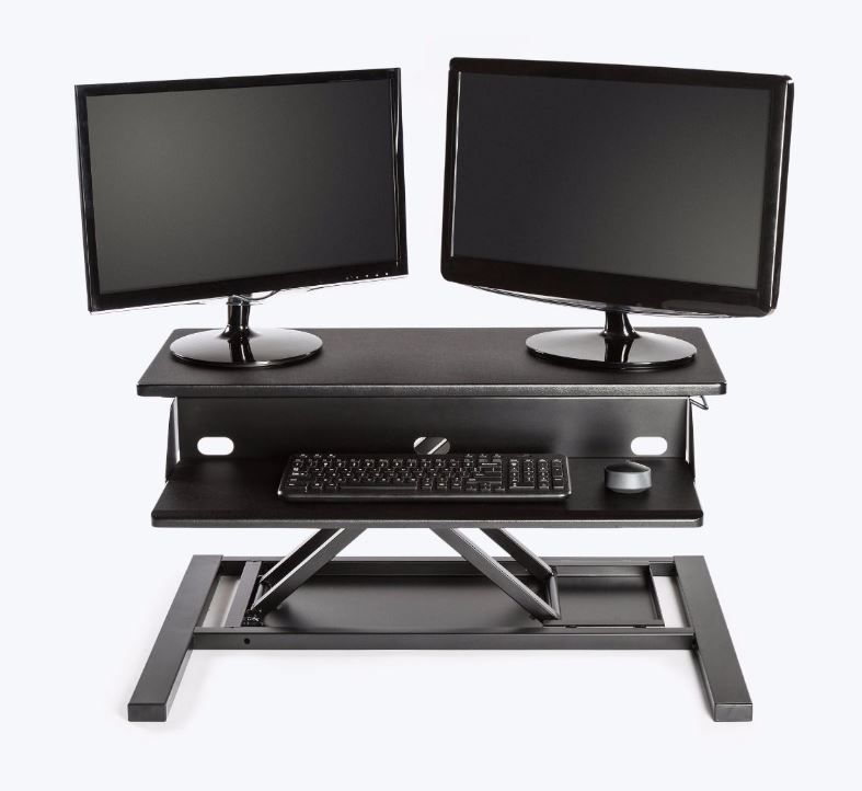 Sit to Stand Adjustable Desk Converter