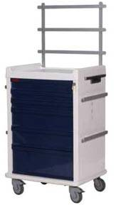 6 Drawer MR Safe Anesthesia Cart Specialty Package