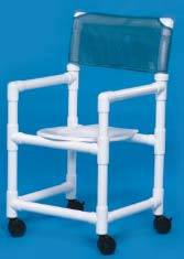Slant Seat Shower Chair 38in