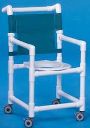 Slant Seat Shower Chair 38in High