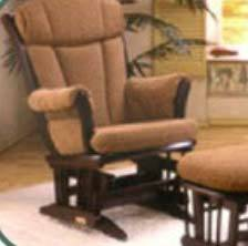 Sleigh Back Glider Rocking Chair