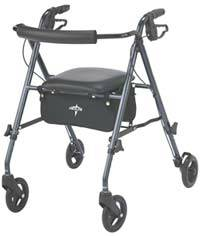 Smokey Blue Rollator