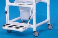 Snap On Footrest for Regular Size Shower Chairs
