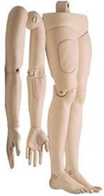 Soft Arms  Legs for the Female CPR Torso Manikins
