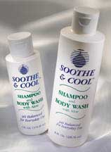 Soothe  Cool Shampoo and Body Wash with Aloe