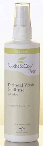 Soothe & Cool No-Rinse Perineal Wash with Aloe