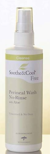 Soothe and Cool No-Rinse Perineal Wash with Aloe