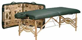 Spirit LT Massage Table Silver Package