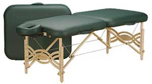 Spirit Portable Massage table Silver Package