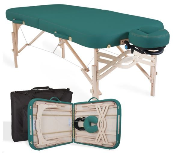 Basic Portable Massage table Silver Package