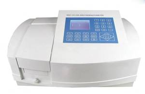 Split Beam UV Visible Spectrophotometer